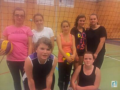 La manchette du volley Moulinois