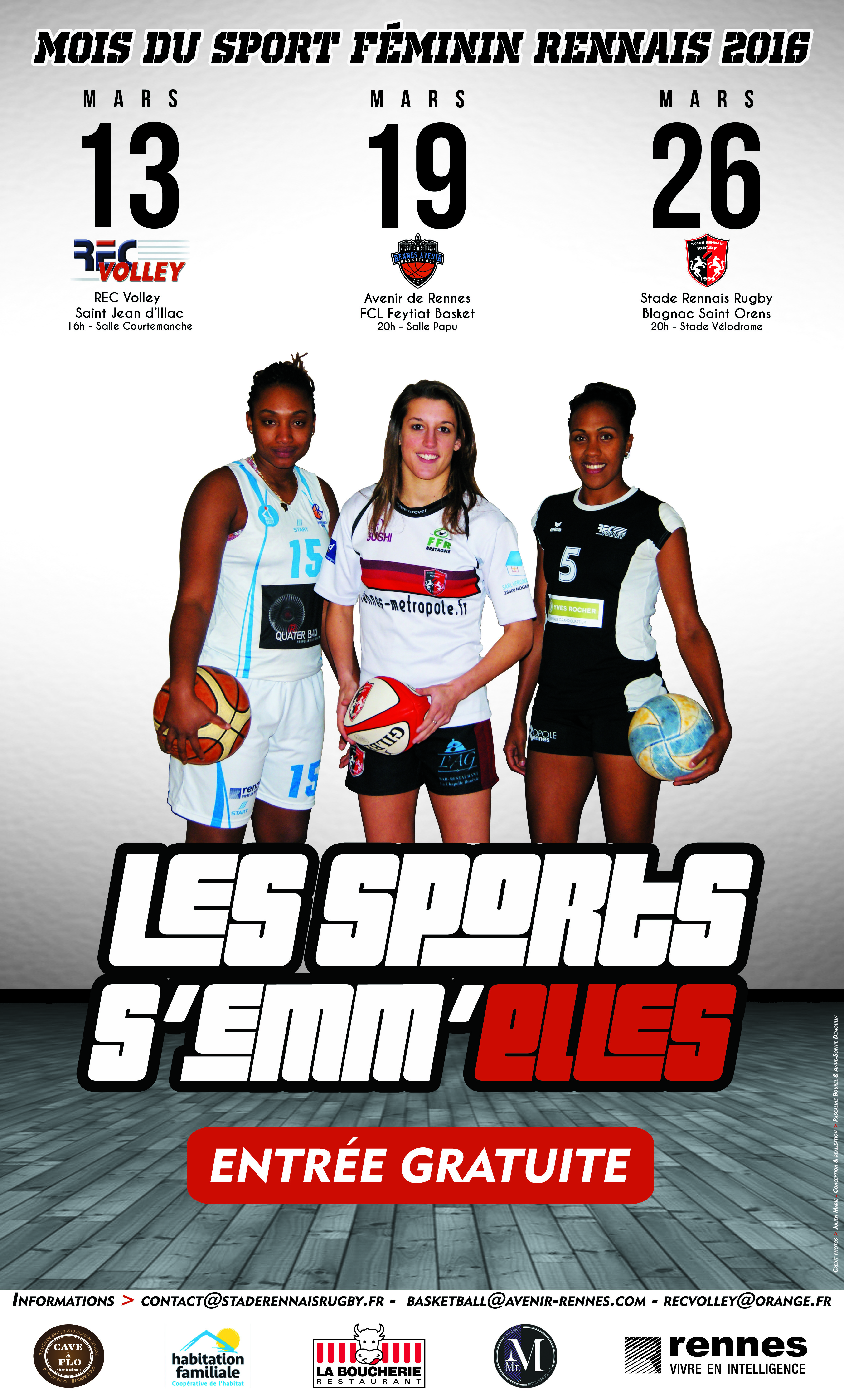 « Les Sports s'emm'Elles » pour le REC Volley