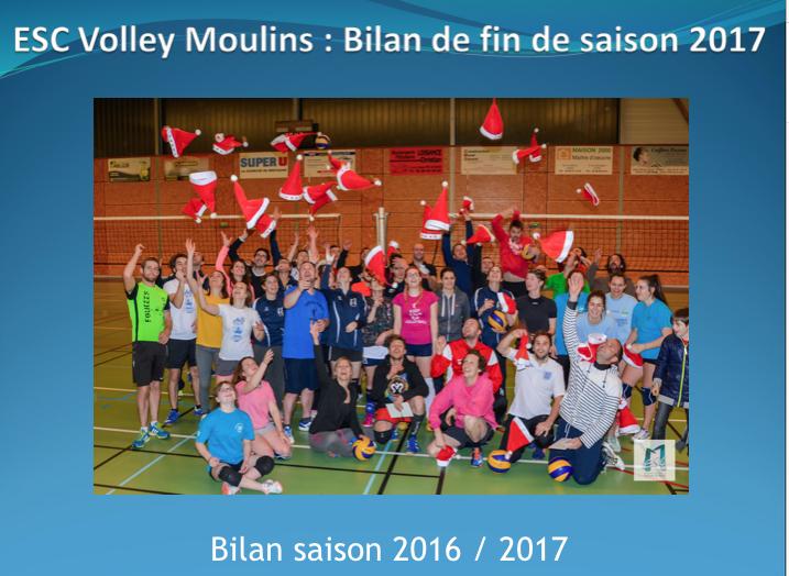 Bilan saison VOLLEY 2016/2017