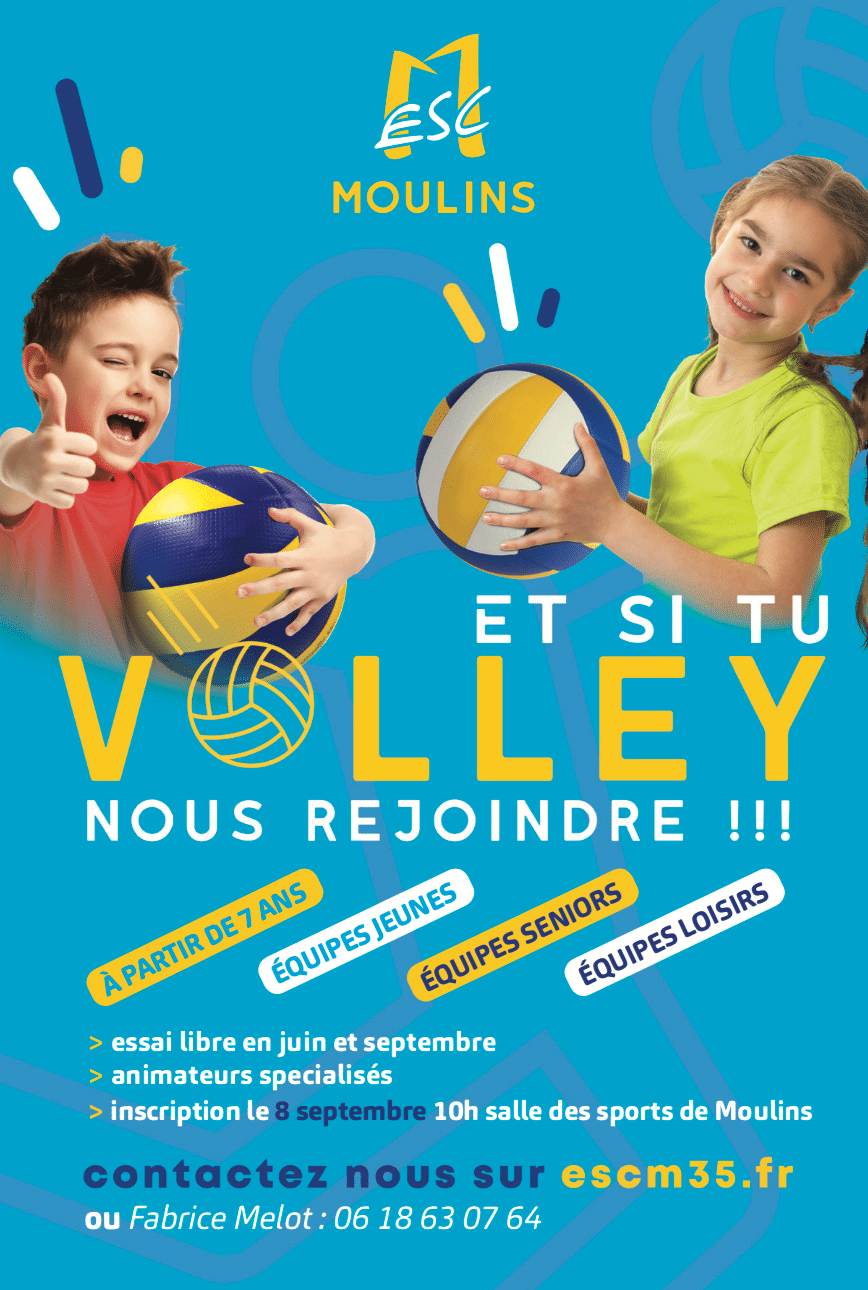 Inscriptions Volley 2018 / 2019